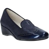Sapatos Mulher Mocassins Melluso H08131 Azul
