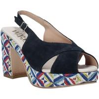 Sapatos Mulher Sandálias Melluso H037080 Azul
