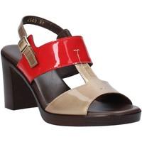 Sapatos Mulher Sandálias Melluso HR8540 Vermelho