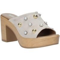 Sapatos Mulher Chinelos Melluso HR80101 Cinzento