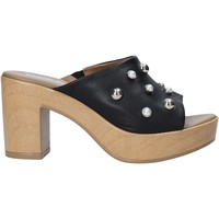 Sapatos Mulher chinelos Melluso HR80101 Preto