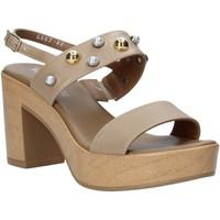 Sapatos Mulher Sandálias Melluso HR80107 Bege