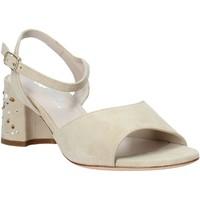 Sapatos Mulher Sandálias Melluso HS531 Bege