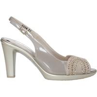 Sapatos Mulher Sandálias Melluso HR50117 Cinzento
