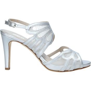 Sapatos Mulher Sandálias Melluso HS845 Prata