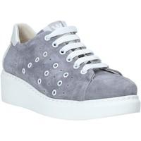 Sapatos Mulher Sapatilhas Melluso HR20715 Cinzento