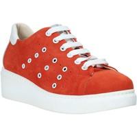 Sapatos Mulher Sapatilhas Melluso HR20715 Vermelho