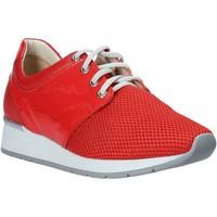 Sapatos Mulher Sapatilhas Melluso HR20012 Vermelho