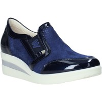 Sapatos Mulher Mocassins Melluso HR20109 Azul