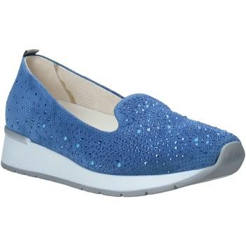 Sapatos Mulher Mocassins Melluso HR20021 Azul