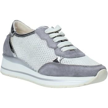 Sapatos Mulher Sapatilhas Melluso HR20033 Cinzento