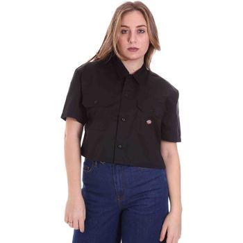 Textil Mulher camisas Dickies DK0A4XE1BLK1 Preto