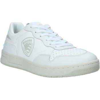 Sapatos Homem Sapatilhas Blauer S1DAYTON01/PUR Branco