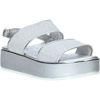 Sapatos Mulher Sandálias Melluso 09620X Prata
