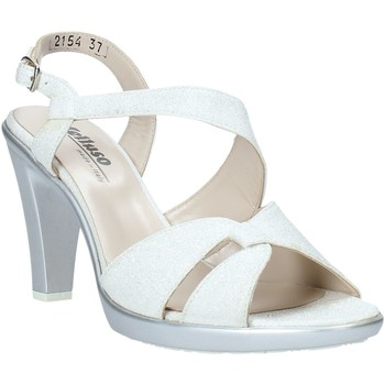 Sapatos Mulher Sandálias Melluso HR50138 Prata