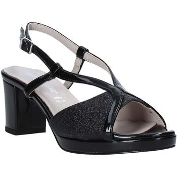 Sapatos Mulher Sandálias Valleverde 46373 Preto