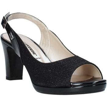 Sapatos Mulher Sandálias Valleverde 28340 Preto