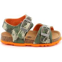 Sapatos Criança Sandálias Grunland SB0386 Verde