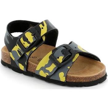 Sapatos Criança Sandálias Grunland SB0969 Amarelo