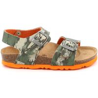 Sapatos Criança Sandálias Grunland SB1226 Verde