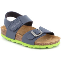 Sapatos Criança Sandálias Grunland SB0234 Azul