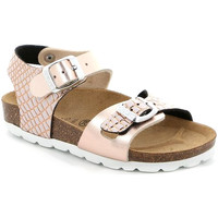 Sapatos Rapariga Sandálias Grunland SB1675 Rosa