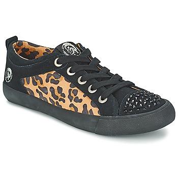 Sapatos Mulher Sapatilhas Diesel LEOPAR Preto