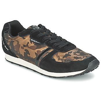 Sapatos Mulher Sapatilhas Diesel CAMOUFLAGE Castanho