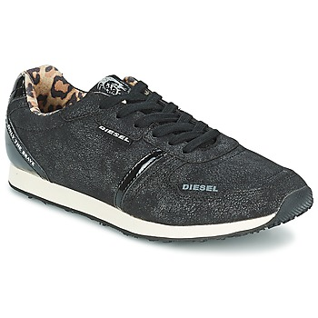Sapatos Mulher Sapatilhas Diesel METAL Preto