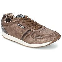 Sapatos Mulher Sapatilhas Diesel METAL Castanho