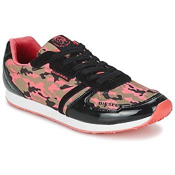 Sapatos Mulher Sapatilhas Diesel CAMOUFLAGE Camuflagem