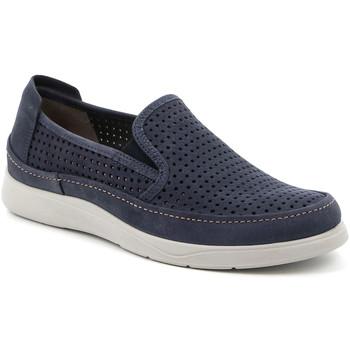 Sapatos Homem Slip on Grunland SC5196 Azul