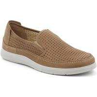 Sapatos Homem Slip on Grunland SC5196 Castanho
