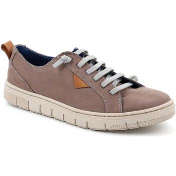 Sapatos Homem Sapatilhas Grunland SC5190 Castanho
