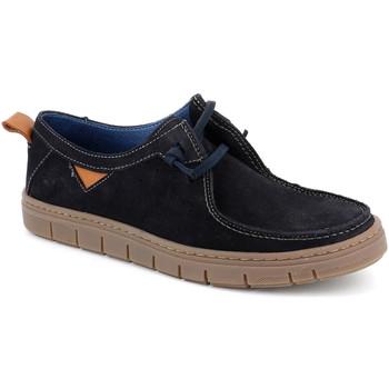 Sapatos Homem Mocassins Grunland SC5034 Azul