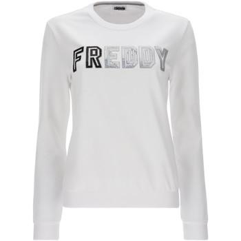 Textil Mulher Sweats Freddy S1WCLS4 Branco