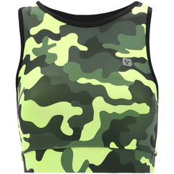 Textil Mulher Tops e soutiens de desporto Freddy S1WFTB2C Verde