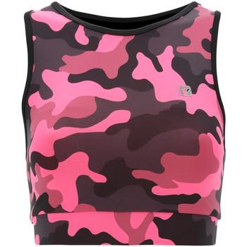 Textil Mulher Tops e soutiens de desporto Freddy S1WFTB2C Rosa
