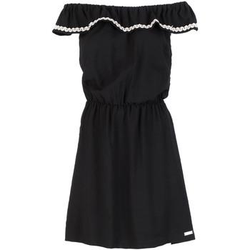 Textil Mulher Vestidos curtos Café Noir JA6090 Preto
