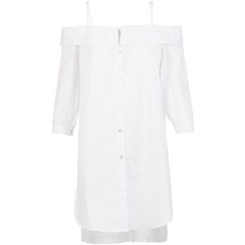 Textil Mulher camisas Café Noir JC6260 Branco