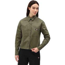 Textil Mulher camisas Dickies DK0A4XETMGR1 Verde