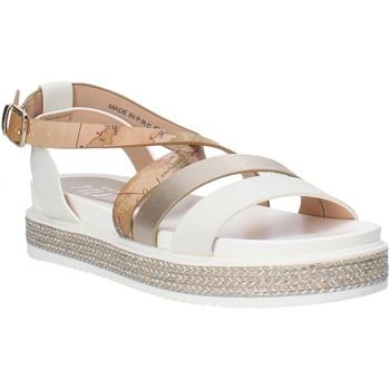 Sapatos Rapariga Sandálias Alviero Martini 0578 0326 Branco