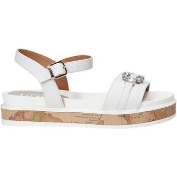 Sapatos Rapariga Sandálias Alviero Martini 0575 0326 Branco