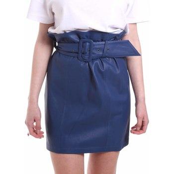 Textil Mulher Saias Federica Tosi FTE20GO036.0VPELLE Azul
