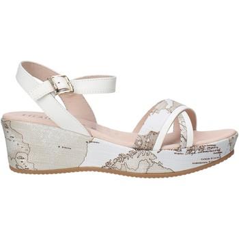 Sapatos Rapariga Sandálias Alviero Martini 0641 0910 Branco