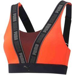 Textil Mulher Tops e soutiens de desporto Puma 520401 Laranja