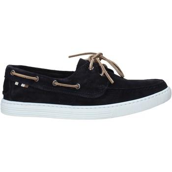 Sapatos Homem Sapato de vela Café Noir TR6010 Azul
