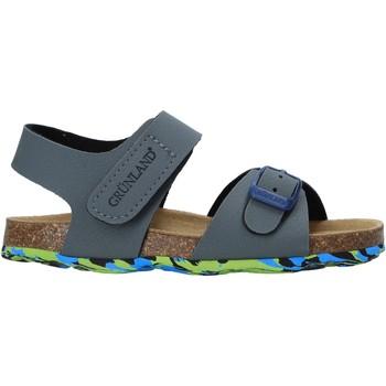 Sapatos Criança Sandálias Grunland SB1640 Cinzento