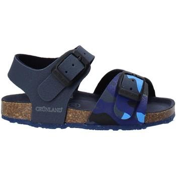 Sapatos Criança Sandálias Grunland SB1646 Azul