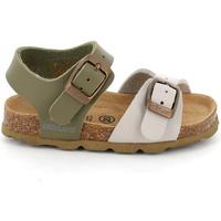 Sapatos Criança Sandálias Grunland SB0027 Bege